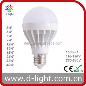 Led Bulbs India Price A65 3w 5w 7w 9w 12w 15w 18w 24w 32w 40w Warm