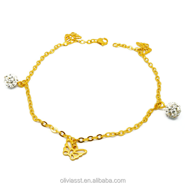 New product distributor wanted gold jewellery anklet