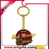 Custom 3d metal coporate pet supplier keychains metal