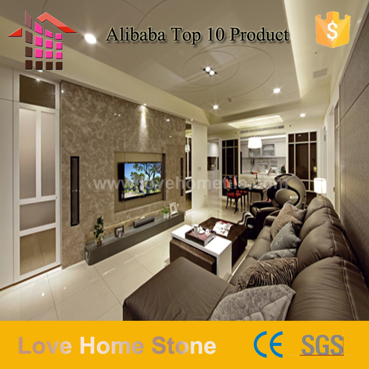 Elegant Building Floor and Wall Decorative Bosy Grey Marble For Home Marble Floor Design,marble temple designs for home