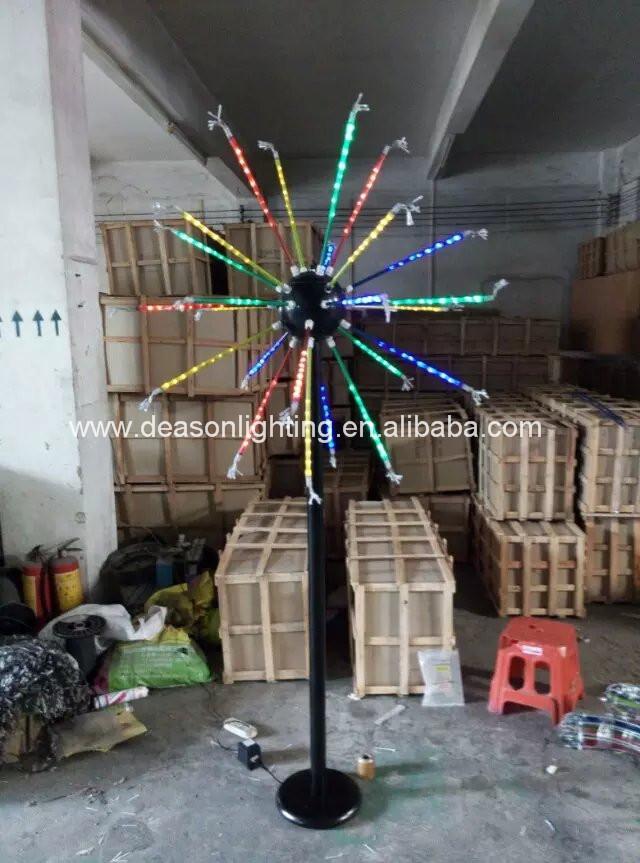 Led Novely Firework Christmas Lights For Outdoor Lights