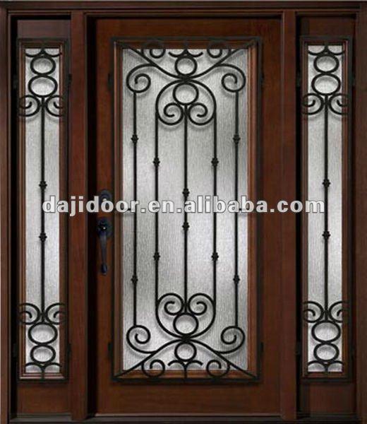 El hierro forjado puerta de dise os para la casa dj for Modelos de puertas de hierro para casa