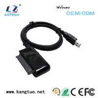 durable modeling sata hdd power cable/laptop hard drive disk adapter