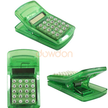 <span class=keywords><strong>Cadeau</strong></span> <span class=keywords><strong>promotionnel</strong></span> Mini Multifonction Clip Calculatrice