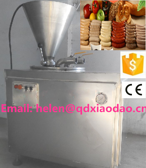 Hot sale high efficiency electric hydraulic sausage stuffer