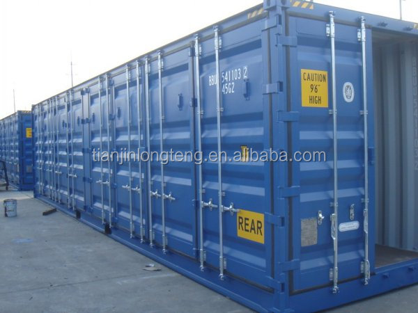 40ft hc open side container