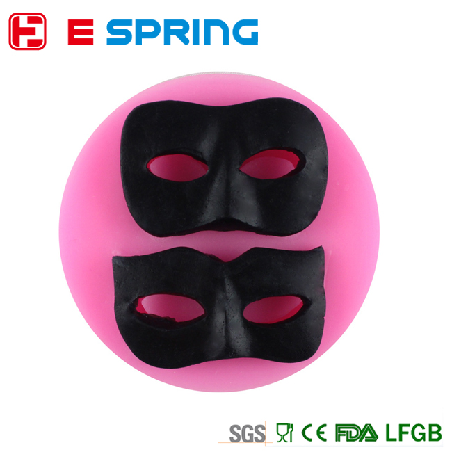 The Halloween Mask Silicone Fondant Soap Mould