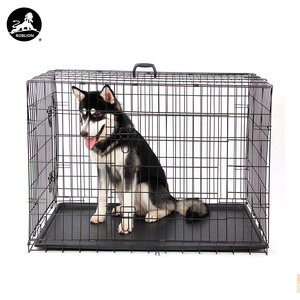 RoblionPet Wholesale High Quality Dog Cages For Sale Cheap For Large Dogs