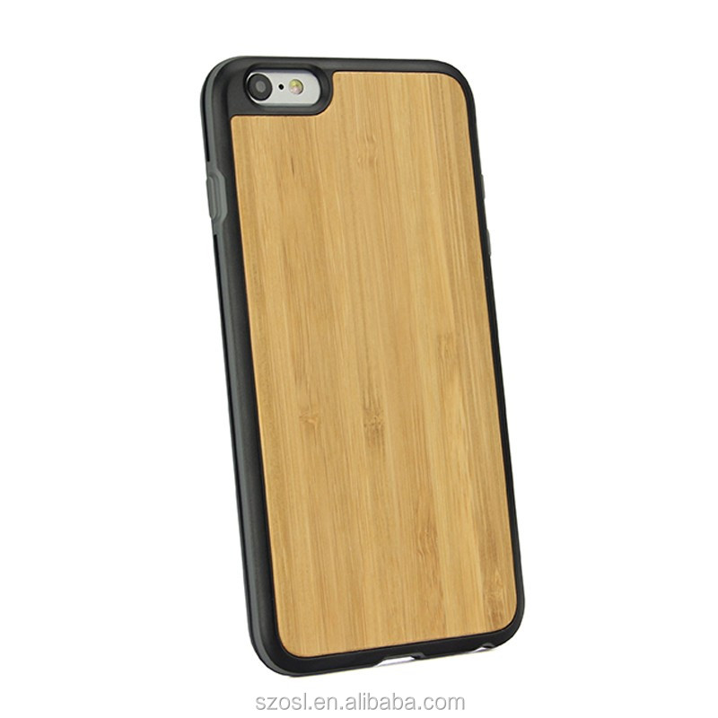 manufacture factory genuine nature wooden cover for iphone 6 design