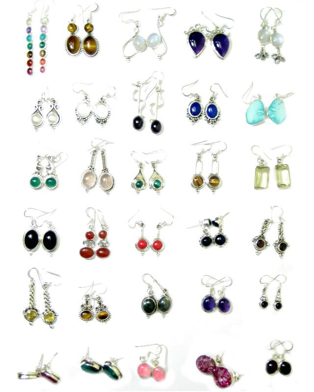 christmas item jewelry aaa for zirconia colorful wholesale jewellery earrings mix round women lots cubic