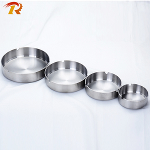 Wholesale Outdoor Ashtrays Stainless Steel Cigarette Metal Ashtray
