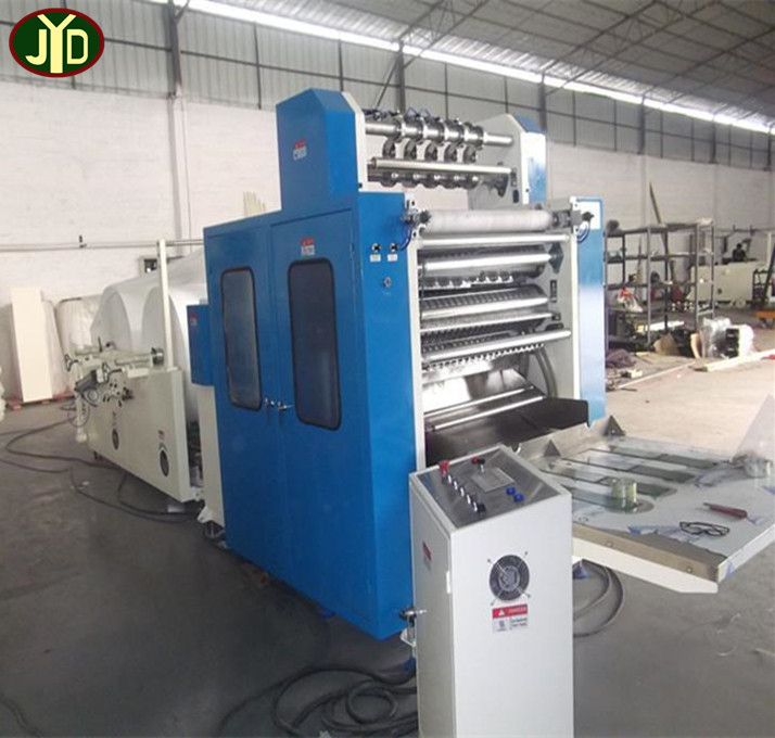 Facial tissue making machine 3