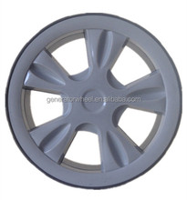 6 inch plastic wheels with bearing for hand trolley /hand cart / push cart, trolley