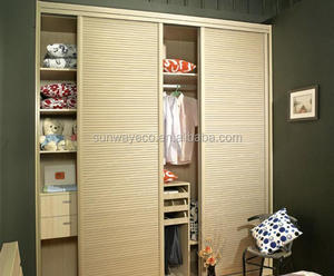 high fashion low carbon wardrobe sliding door fittings