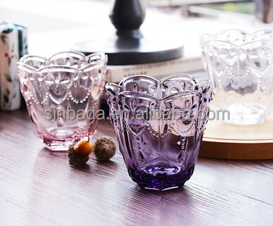 Wholesale glware,colored drinking gl,printing color gl, View Printing on