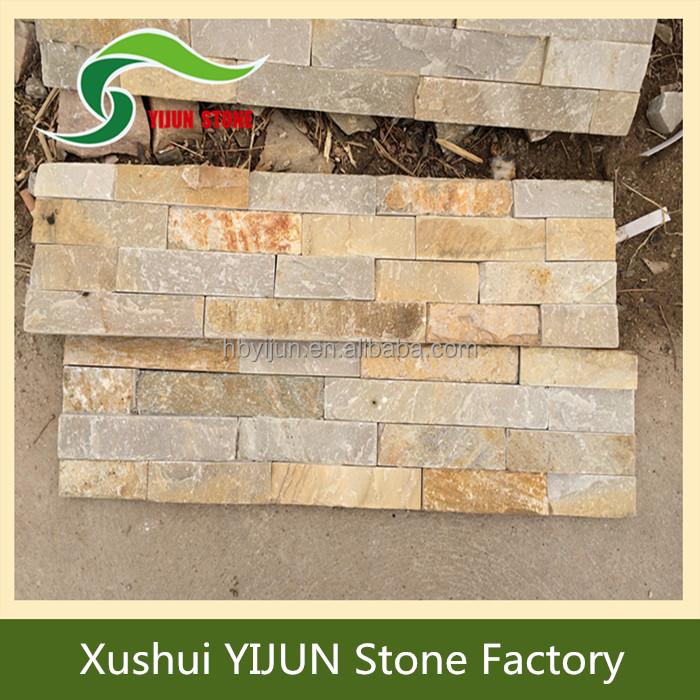 Mejor precio de f brica de china fachada de piedra natural Pared de piedra precio