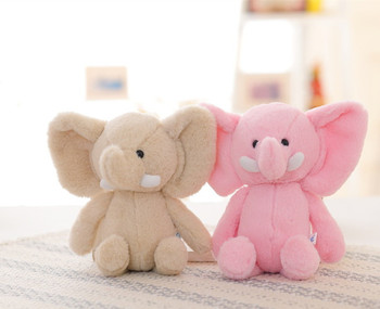 Cute Stuffed Animal Elephant Plush Soft Elephant Toy For Kids With