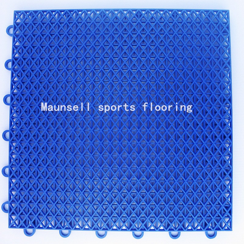 Spot Goods Pp Interlocking Tiles Basketball Outdoor Floor Made In ...
