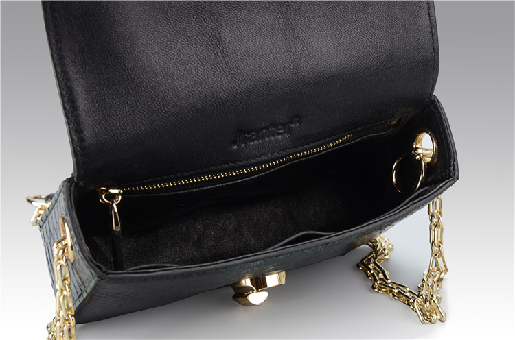 e2f993ae9fa Jranter Real Python Skin Leather Chain Women Evening Bag - Buy Lady ...