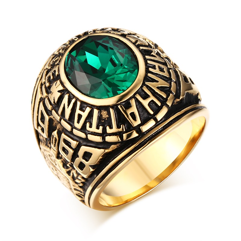 Us Army Class Rings: Retro Style Male Ring United States Army Male Ring
