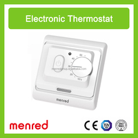 MENRED E7... Wall installation electric heating thermostat for floor heating system