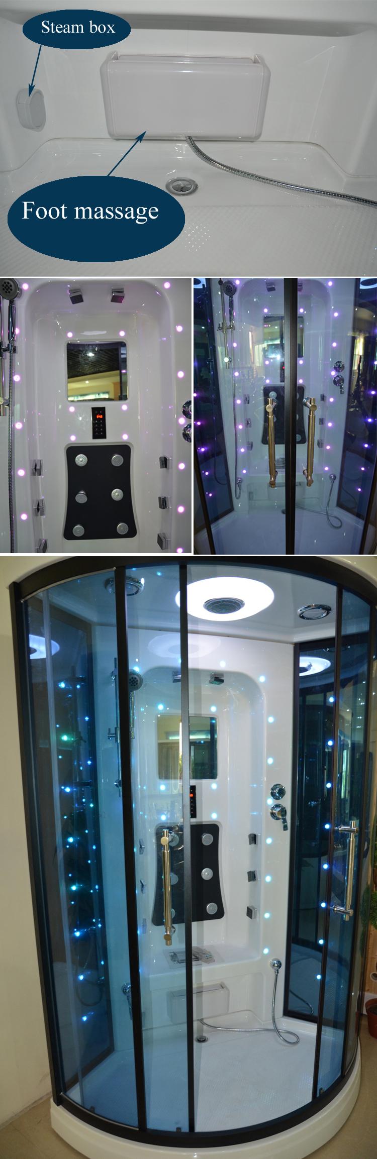 Hs Sr012 Best Seller Shower Cabin Prefab Shower Stall