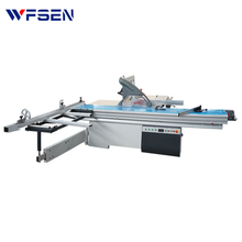 MJ6116TD CE mdf plywood automatic electric titl 45 degree sliding table saw made in germany Italy