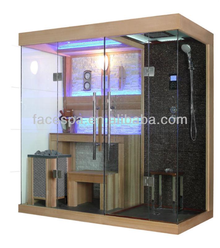 casa sauna habitacin con ducha de vapor cabina fs para modern house diseo