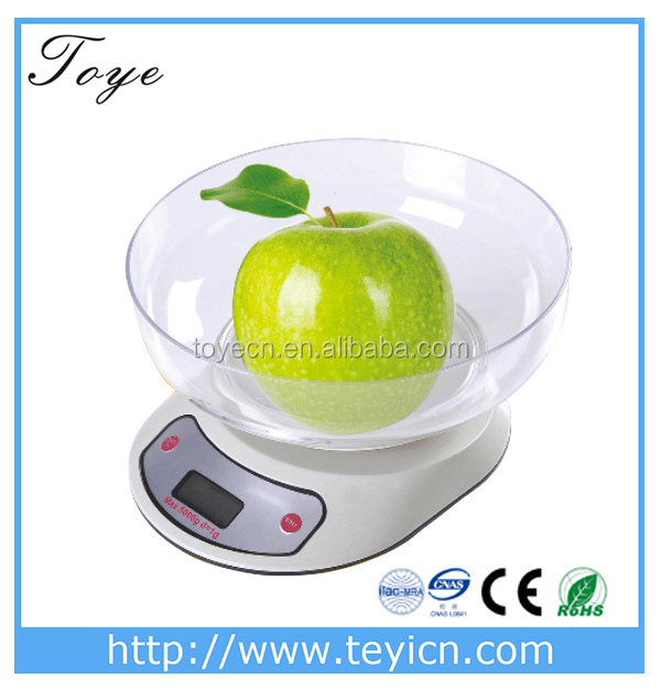 TY--301 10kg digital food scale kitchen scale with electronic led display