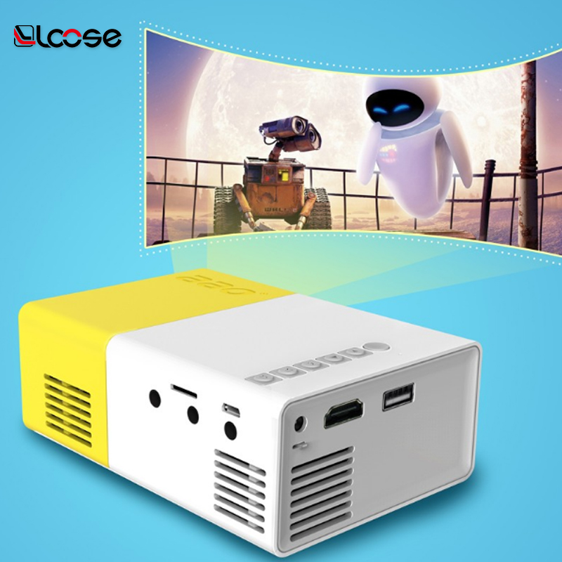 2017 Trending Product Good Quality Mini Projector Portable LED Video Projector in Shenzhen