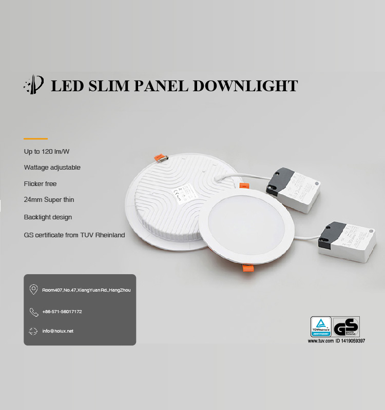 Warehouse in EU 12W 15W 18W 24W color adjustable flicker free commercial recessed LED downlight