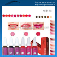 Chemical free Lip tattoo ink for permanent makeup