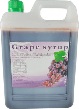 1:5/2.5KG grape concentrate syrup