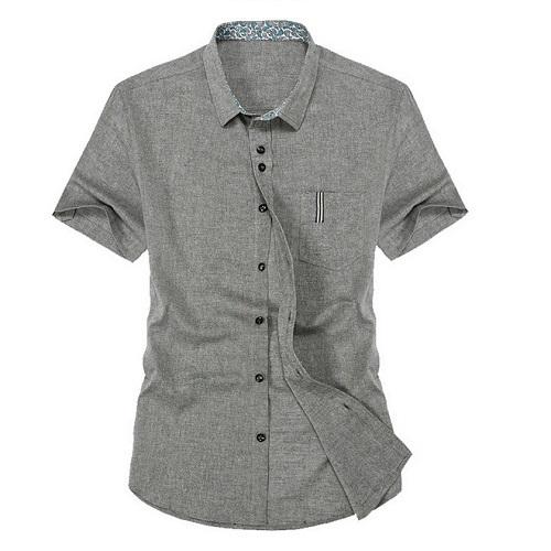 3079cb3042 Get Quotations · HOT Sales Summer 2015 New Arrivel Linen Men Casual Shirts  Mens Dress Shirts Slim Fit short