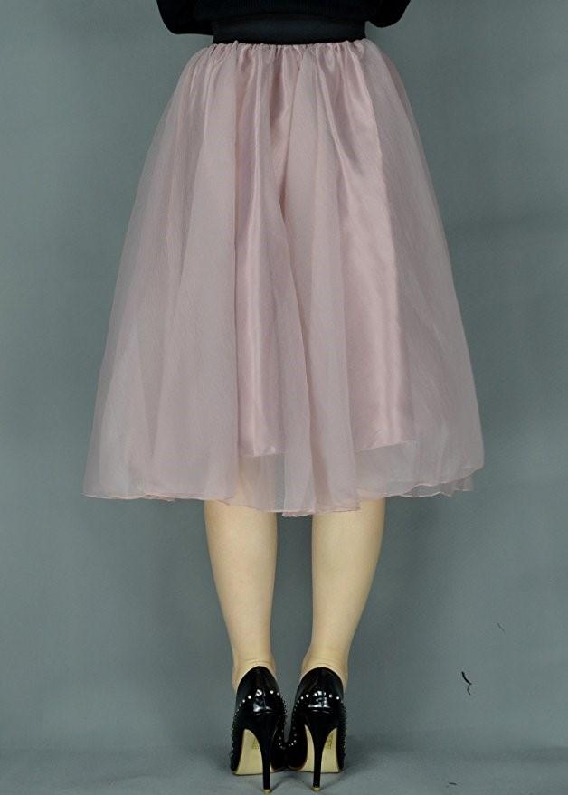 05f8ee26c2 Wholesale Custom Lady's Organza Princess Skirt Bowknot Pleated Midi Women  Knee Length Skirts