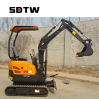 factory mini excavator 1.5 ton with yanmar engine for sale