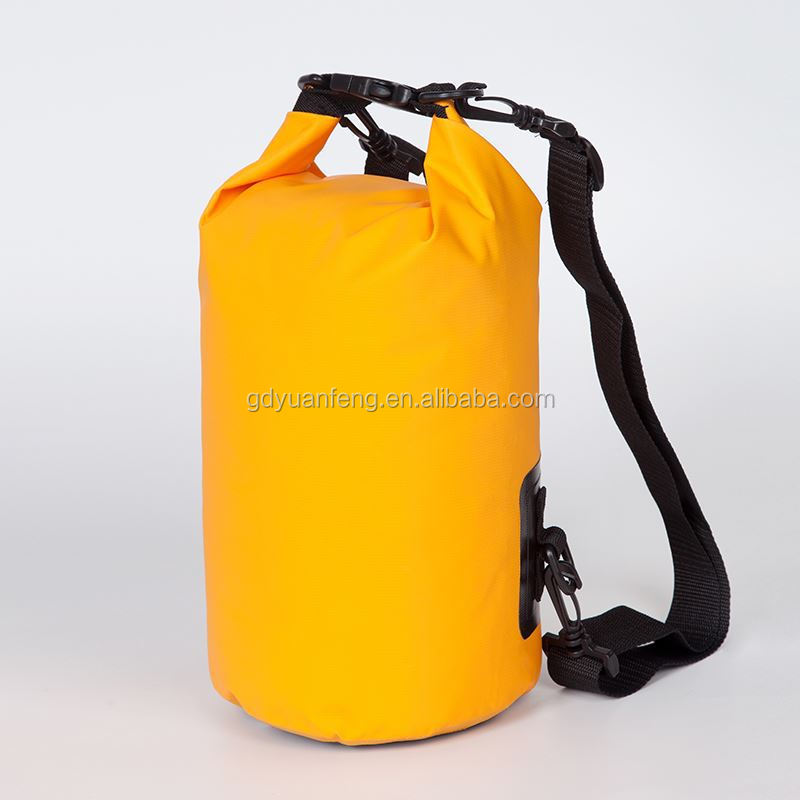 Waterproof Dry Bag For Camping and Hiking with shoulder strap