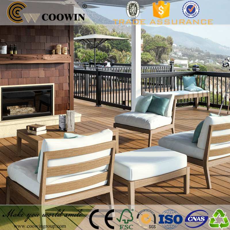 high quality outdoor costa rica wood plastic composite