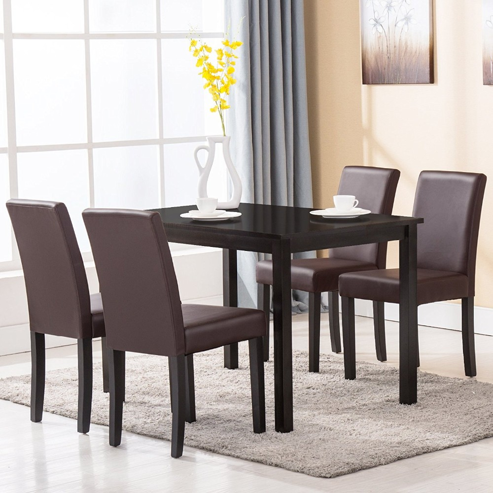 Dining Table Sets On Sale: One Table And 4 Upholstered Chairs Alibaba Malaysia Used