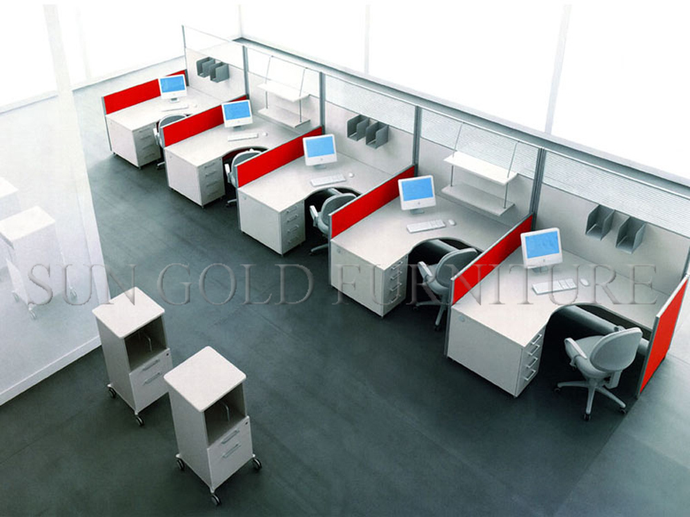Modular Office Furniture Straight Modern Office Cubicles