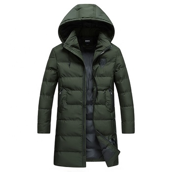 OEM custom blank jacket men winter clothing wholesale jacket outdoor casual bubble jacket