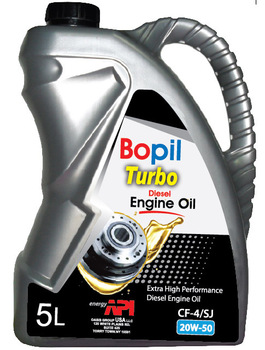 Bopil turbo diesel engine oil cf 4 sj 20w50 buy cf 4 sj for Best price motor oil