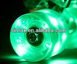 100mm Lighted scooter Wheels