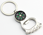 Unique gift ideas of Compass/foot bottle opener keychain
