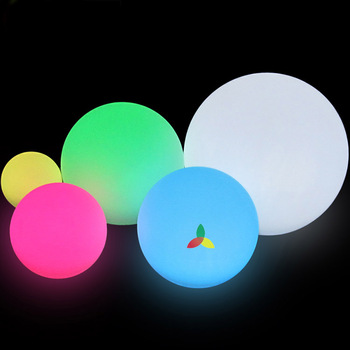 Rotational Molding PE Made led Decorative Ball For Events