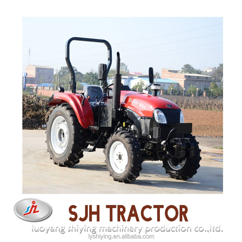 SJH 55hp 4wd wheel farm tractor list of agricultural products