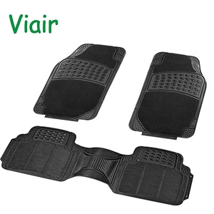 trim-to-fit design prevent trap mud sand Compact low price China Made pvc backing car rubber floor mat