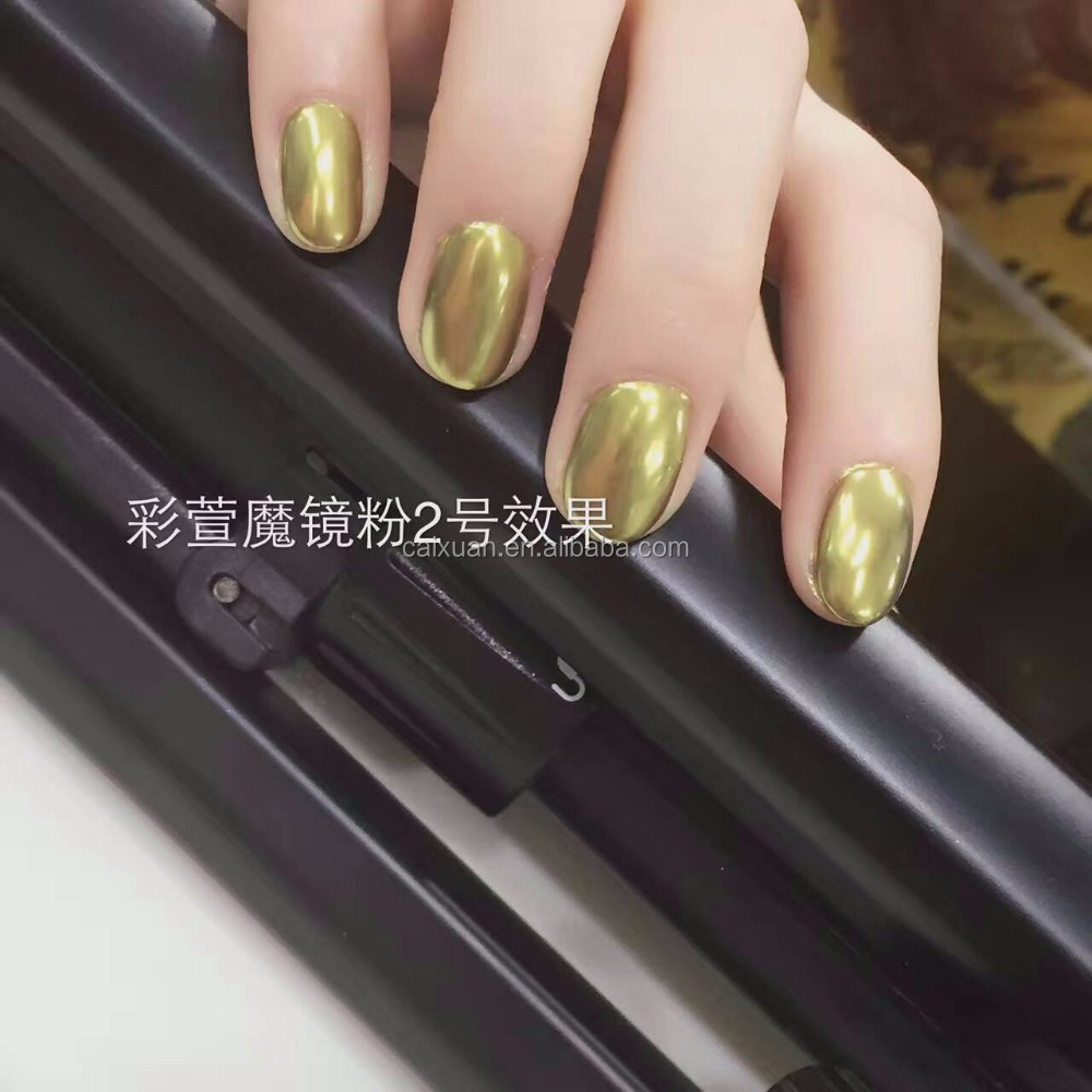 Caixuan Aurora Chrome Powder Series Nail Arts Design Gel Polish