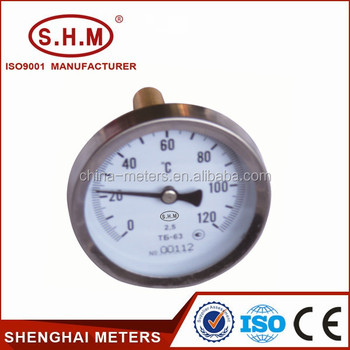 Hot Water Temperature Gauge,Boiler Thermometer,Water Heater ...