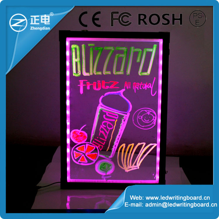 2015 New Design Transparent Small Led Display Board; Acrylic Led ...